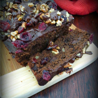 Chocolate Cranberry Pecan Loaf