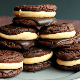 Double Chocolate Pumpkin Cheesecake Oreos