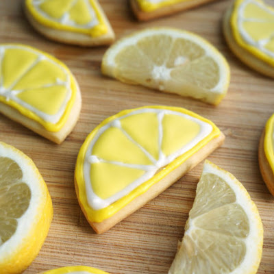 Lemon Slice Cookies