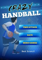 Screenshot of handball games