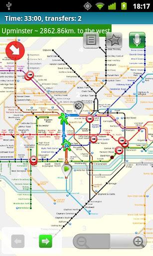 玩旅遊App|London tube (Metro 24)免費|APP試玩