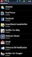 Screenshot of SmartWatch Universal IM