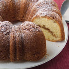 Moist Sour Cream Coffee Cake