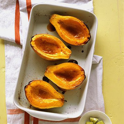 Roasted Papaya with Brown Sugar