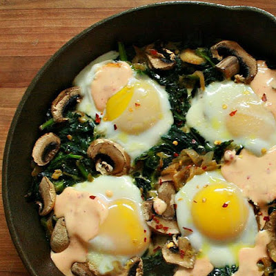 Green Egg Skillet Bake