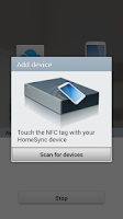 Screenshot of Samsung HomeSync