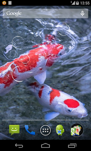 App koi fish live wallpaper apk for windows phone for Fish live game