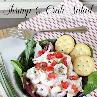 Skinny Shrimp and Crab Salad