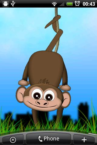 monkey-live-wallpaper for android screenshot
