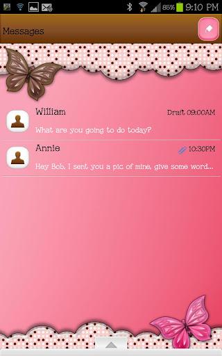 GO SMS - Polka Dot Frenzy