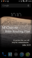 Screenshot of Bible Reading Plan - M'Cheyne