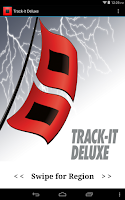 Screenshot of Track-It Deluxe for Hurricanes