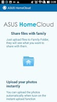 Screenshot of ASUS HomeCloud