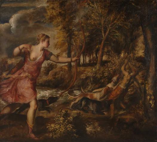 Tiziano, Morte di Atteone