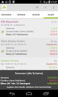 Screenshot of Lotto - Bin ich schon reich?