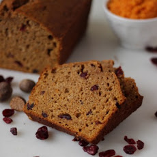 Sweet Potato Cranberry Quick Bread {Mystery Dish}
