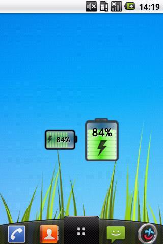 Easy Battery Widget