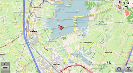 Maps 3D and navigation APK for Bluestacks