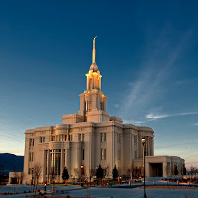 payson Temple  by Cody Hoagland - Buildings & Architecture Places of Worship ( temple )