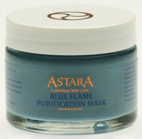 Blue Flame face mask by Astara
