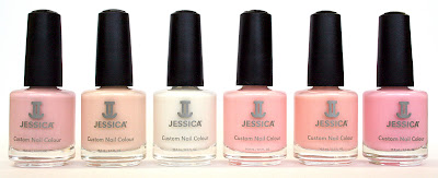Empowered Breast Cancer Awareness nail polish collection by Jessica