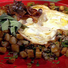 Fried Eggs with Home Fries