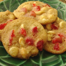 Vanilla Chip Cherry Cookies