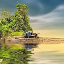 The Boat by Ketut Manik - Transportation Boats
