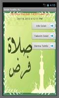 Screenshot of Solat Fardhu Ku