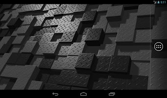 Screenshot of Digital Flux Live Wallpaper