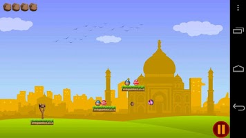 Screenshot of Dahihandi Knock Down Game