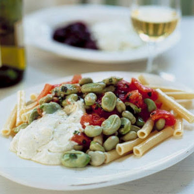 Pasta Salad with Favas