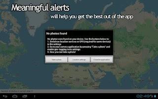Screenshot of Your Photo Map