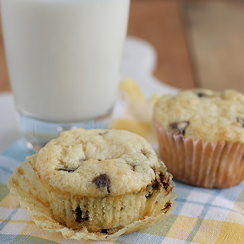 Chocolate Chip Sour Cream Muffins