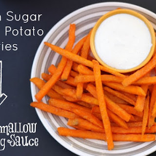 Sweet Potato Fries With Brown Sugar Dipping Sauce Recipes
