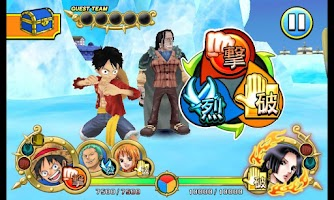 Screenshot of One Piece ARCarddass Formation