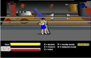 Screenshot of เกมส์มวยไทย2