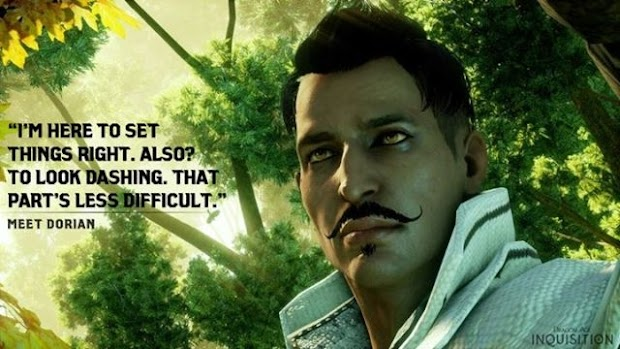 "BioWare's David Gaider hails Dragon Age: Inquisition's Dorian as the first ""fully gay"" character he's written"