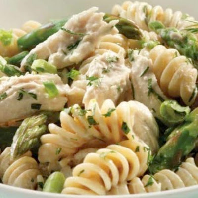 Green Goddess Pasta Salad with Chicken