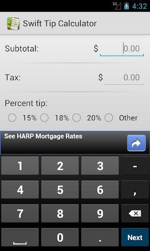 Swift Tip Calculator