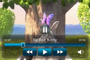 Screenshot of Big Buck Bunny Movie App