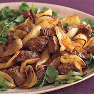 Beef and Onion Stir-Fry