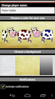Screenshot of GotchiCow - sweet cow as a pet