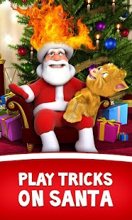 Download Talking Santa meets Ginger APK on PC
