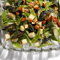 Patricia Wells's Crunchy Asparagus and Snow Pea Salad Recipe