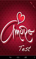 Screenshot of Amore Test