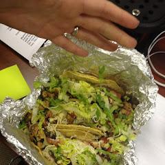 Corn soft tacos hmmmm yum