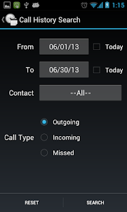 Call Duration Explorer - screenshot