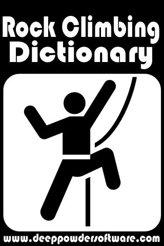 Rock Climbing Dictionary