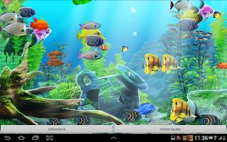 Screenshot of Aquarium Live Wallpaper HD
